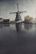 Creek Prints - Windmill  Print by Joana Kruse