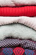 Wool Jumpers  Print by Tom Gowanlock