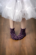 Feet Art - Woollen Socks by Joana Kruse