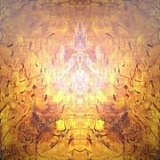 Yellow Print by Pirsens Huguette