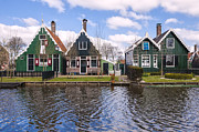 North Holland Framed Prints - Zaanse Schans Framed Print by Joana Kruse