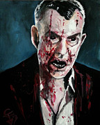 Vampires Prints - 30 days of Night Print by Tom Carlton