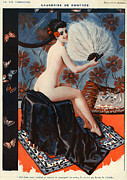 Sex Drawings Posters - 1920s France La Vie Parisienne Magazine Poster by The Advertising Archives