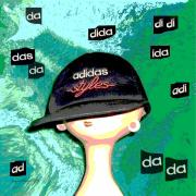 Label Prints - 305 - Adidas Fun Print by Irmgard Schoendorf Welch