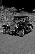 Monochrome Hot Rod Framed Prints - 31 Hot Rod Framed Print by Gary Silverstein