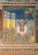 Fresco Photos - Italy, Umbria, Perugia, Assisi, Upper by Everett