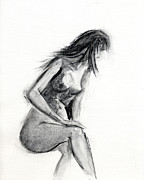 Nude Woman Prints - RCNpaintings.com Print by Chris N Rohrbach