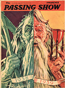 Father Time Posters - 1930s,uk,the Passing Show,magazine Cover Poster by The Advertising Archives