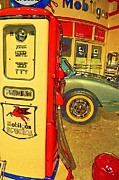 Gas Stations Prints - 32 Cents A Gallon Print by Jan Amiss Photography