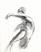 Figure Drawing Prints - RCNpaintings.com Print by Chris N Rohrbach