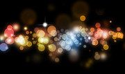 Celebrate Photos - Abstract background by Les Cunliffe