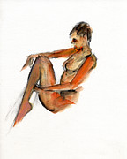 Watercolor Drawings Originals - RCNpaintings.com by Chris N Rohrbach