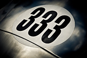 Racecar Number Prints - 333 Print by Phil