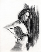 Drawings - RCNpaintings.com by Chris N Rohrbach