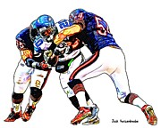 Seahawks Posters - 335 Poster by Jack Kurzenknabe