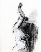 Figure Drawing Drawings - RCNpaintings.com by Chris N Rohrbach