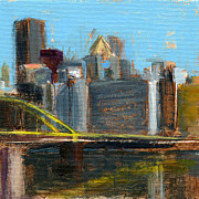 Bridges Painting Framed Prints - RCNpaintings.com Framed Print by Chris N Rohrbach