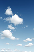 Day Summer Prints - Clouds Print by Les Cunliffe