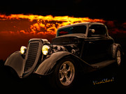 Chas Sinklier - 34 Ford Coupe Back in...