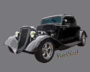 Chas Sinklier - 34 Ford Coupe on Grey