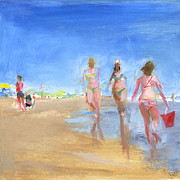 Shore Art - RCNpaintings.com by Chris N Rohrbach