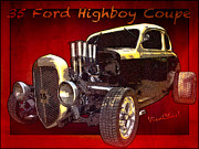 Chas Sinklier - 35 Ford Highboy Coupe...