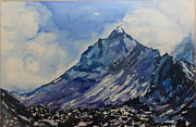 Himalaya Paintings - 35 by Manasi Sose