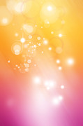 Abstract Stars Posters - Abstract background Poster by Les Cunliffe