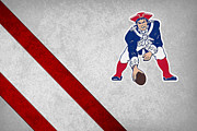 Nfl Prints - New England Patriots Print by Joe Hamilton