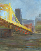 Bridge Prints - RCNpaintings.com Print by Chris N Rohrbach