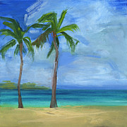 Key West Painting Metal Prints - RCNpaintings.com Metal Print by Chris N Rohrbach