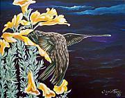 368 Hummingbird Print by Sigrid Tune