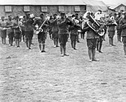 1918 Art - 369th Infantry Regiment Band by Underwood Archives