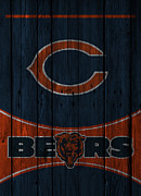 Chicago Bears Print by Joe Hamilton