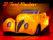 Chas Sinklier - 37 Ford Roadster
