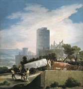 Goya Y Lucientes, Francisco De Print by Everett