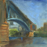 Pittsburgh Prints - RCNpaintings.com Print by Chris N Rohrbach