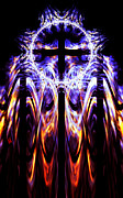 Cross Digital Art Prints - Untitled  Print by Adam Vance