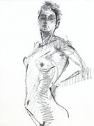 White Drawings Originals - RCNpaintings.com by Chris N Rohrbach