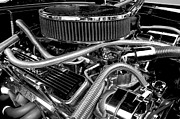 Motors Metal Prints - 383 Small Block Metal Print by Mike Maher