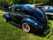 Custom Cars Prints - 39 Dodge Sedan 002 Print by Lance Vaughn