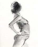 Graphite Drawings Originals - RCNpaintings.com by Chris N Rohrbach
