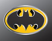 3d Bat Print by Cheryl Young
