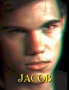 Swann Digital Art - 3D Jacob by Paul Van Scott