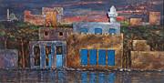 3d Village Print by Amani Al Hajeri