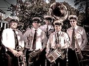 3rd Line Brass Band Print by Renee Barnes