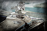 Featured Art - 1933 Stutz Dv-32 Hood Ornament by Jill Reger