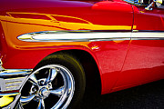 Custom Grill Photos - 1956 Chevy Bel Air Custom Hot Rod by David Patterson