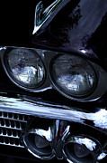 Custom Grill Photos - 1958 Chevy Bel Air by David Patterson