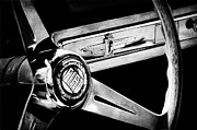 Wheel Photos - 1961 Fiat 1500 S OSCA Cabriolet Steering Wheel by Jill Reger